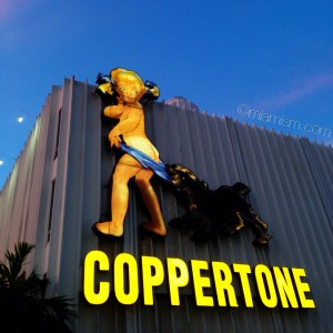 Historic Coppertone Sign by miamism.com