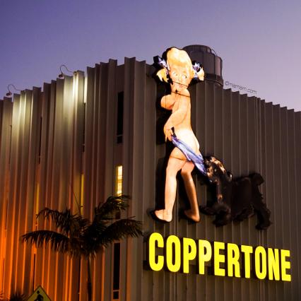Coppertone Girl Sign - MiMO District Miami